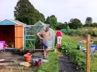 Allotment Wardington UK