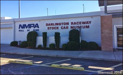 Darlington Raceway Stock Car Musem 10272014