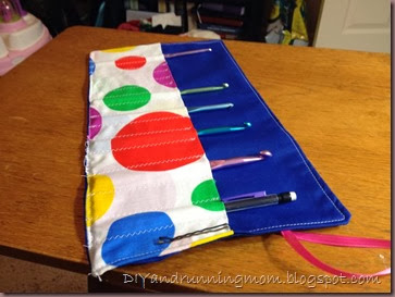 crochet hook roll up