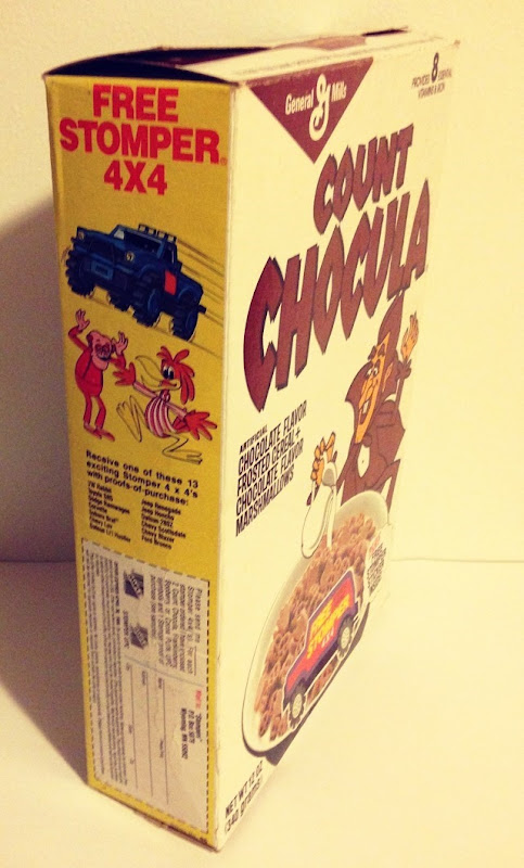 Count Chocula Cereal Side