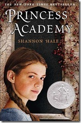 book cover of Princess Academy by Shannon Hale