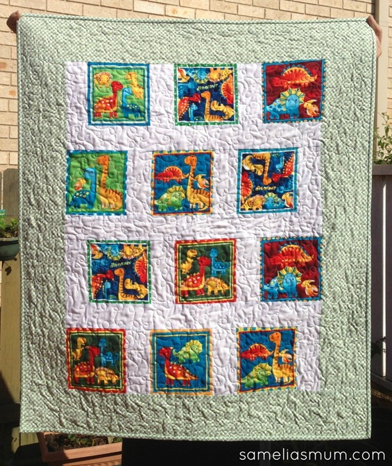 Baby Dino Quilt