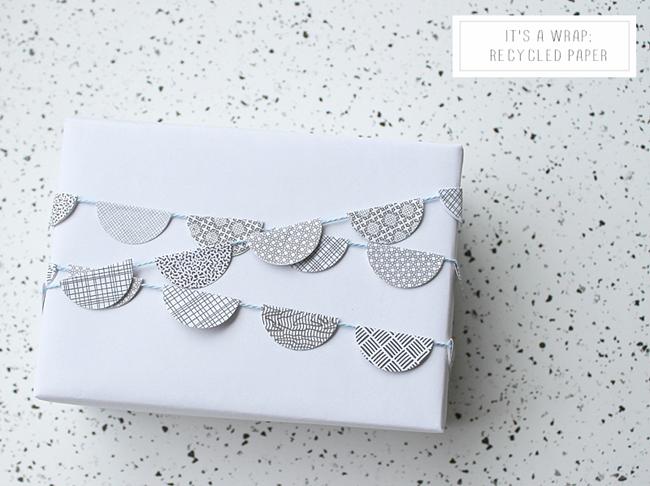 Recycle Gift Wrap via homework (1)