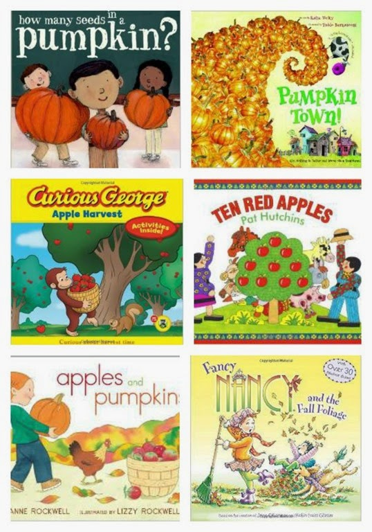 fall books Collage