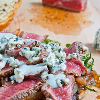 Black and Blue Steak Sandwich