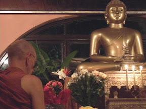 Transferência de Méritos e Homnagem a Don Kulatunga Jayanetti (1921 - 2011) fundador do centro de meditação de Santa Teresa