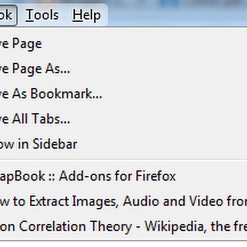 Create a Scrapbook of Saved Webpages for Offline Reading in Firefox