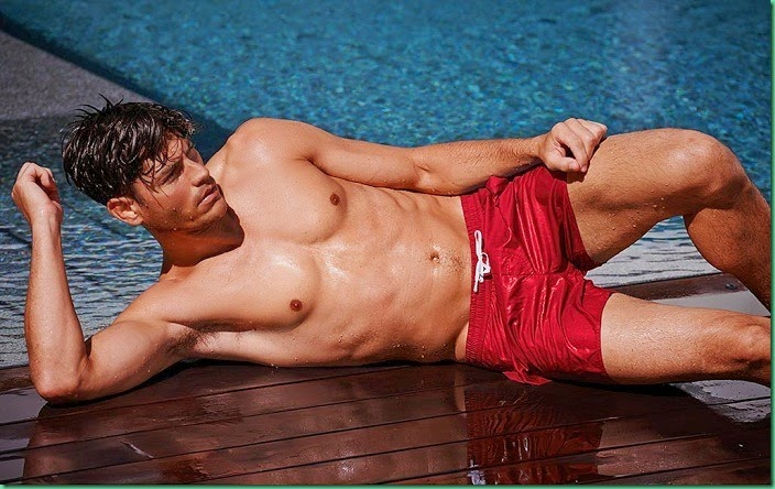 Tyson Ballou for Calzedonia Beachwear Summer 2014