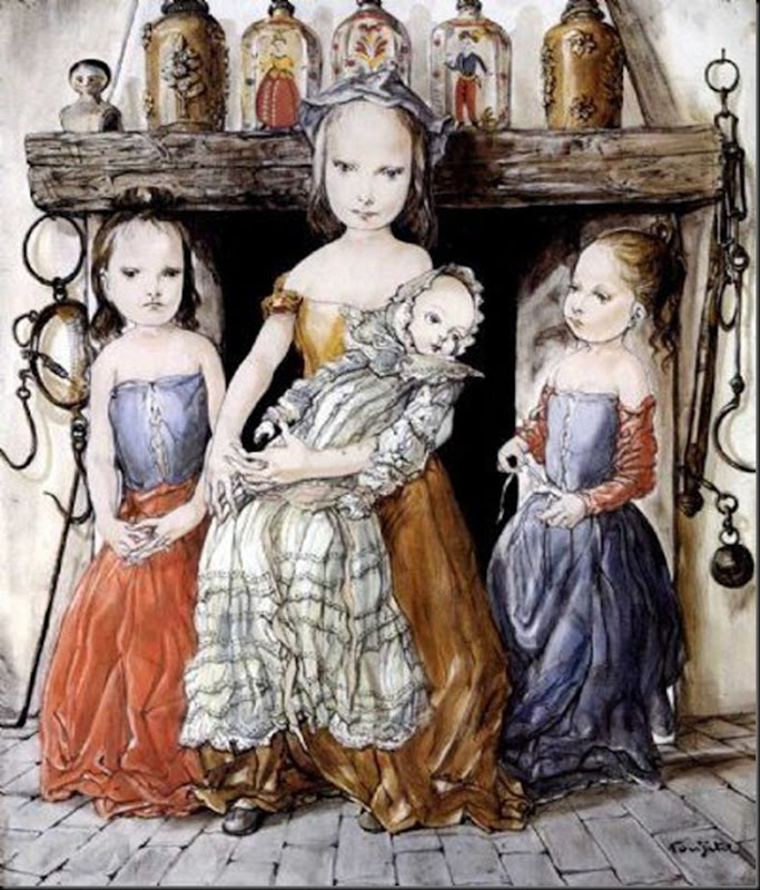 Children And Doll