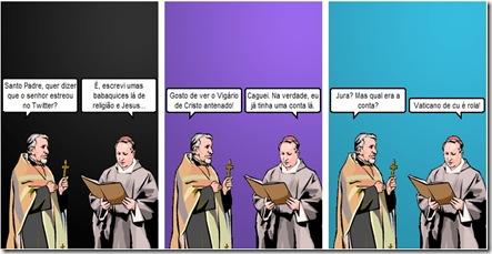 Witty Comics   O Papa Desbocado no Twitter