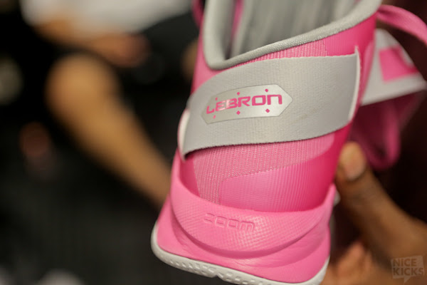 Closer Look at Nike Zoom LeBron Soldier VI Think Pink