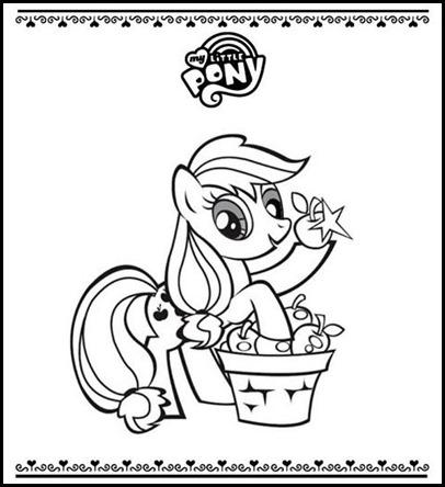 My little pony colorear 002