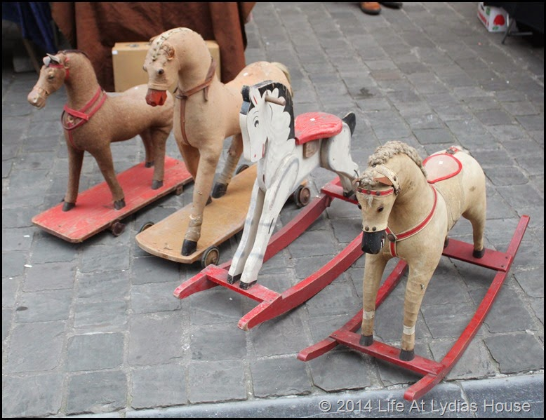 Antique rocking horses