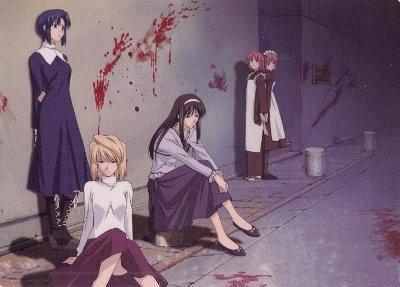 shingetsutan tsukihime, vampiro, kyuuketsuki, vampire