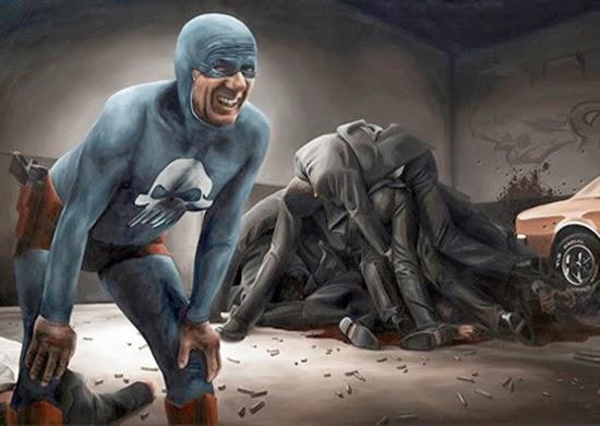 Velho super herói Fantasma 06