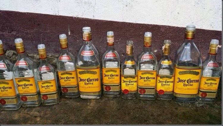 1 tequila, 2 tequila, 3 tequila, four!..
