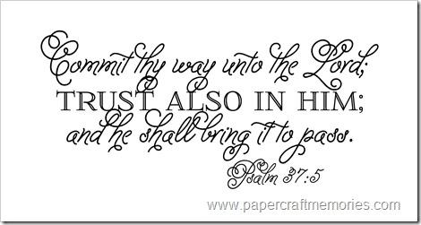 Psalm 37:5 WORDart