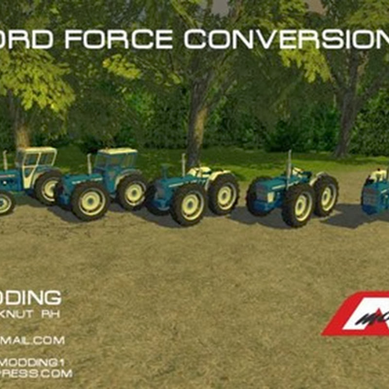 Farming simulator 2013 - Ford Force Conversions v 1.0