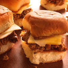Pineapple-Braised Pork Sandwiches