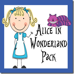Alice in Wonderland Early Learning Pack