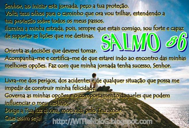SALMO 86 - Uma oração perfeita e completa - muito linda