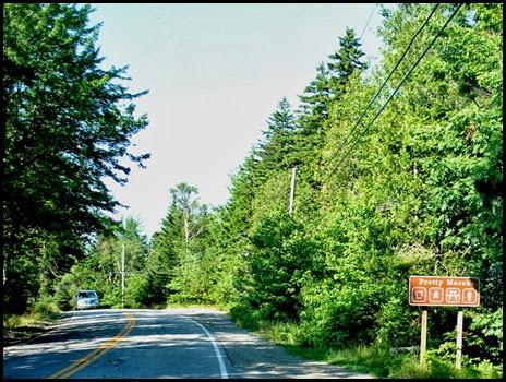 02d -Pretty Marsh Rt 102 -  approaching Acadia Picnic area