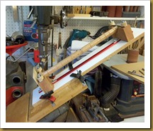 Drilling jig for circular items-72