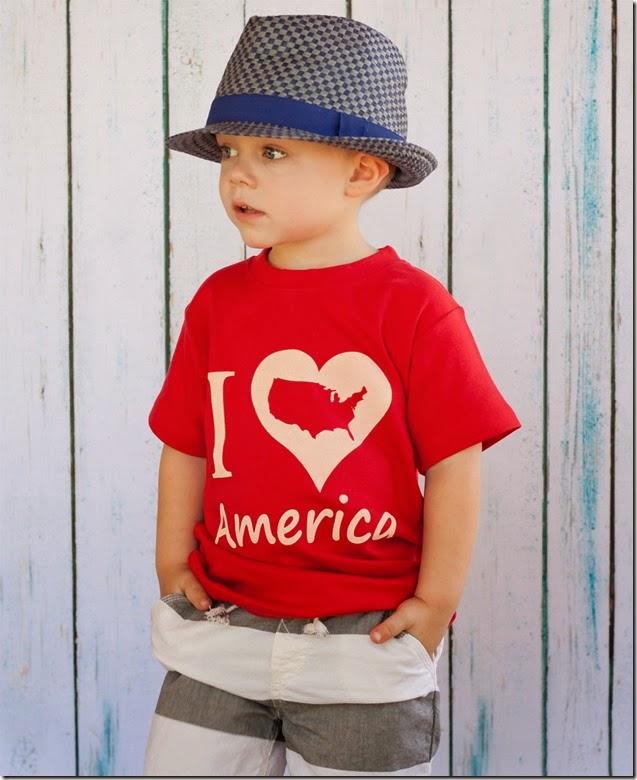 I love America model small