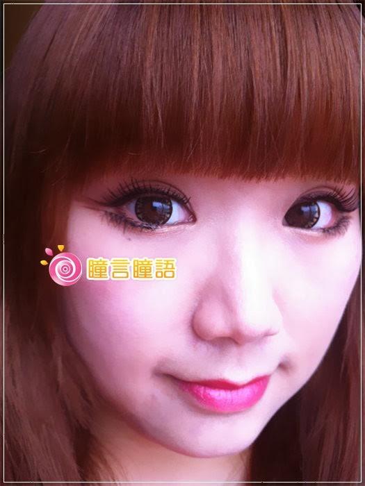 韓國GEO隱形眼鏡-芭比愛七彩鑽石咖13