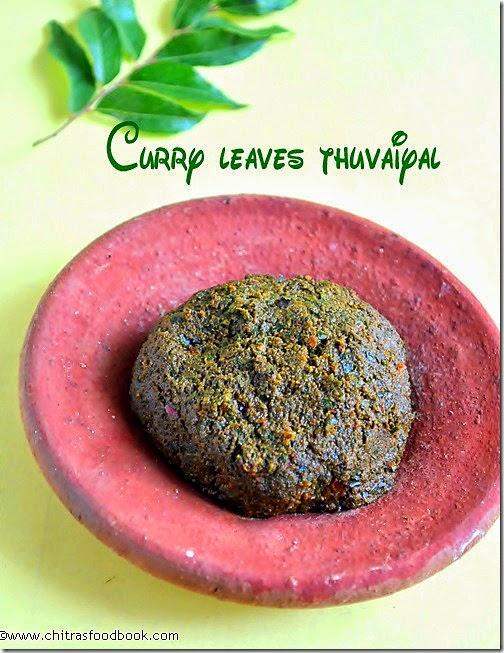 karuveppilai thogayal-recipe