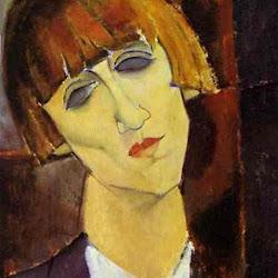 Modigliani, Mme Kisling 1917