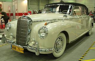 Mercedes Benz 300 Cabrio, lata produkcji 1955 - 1956