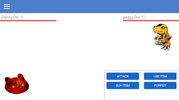 Screenshot of Digimon VPET