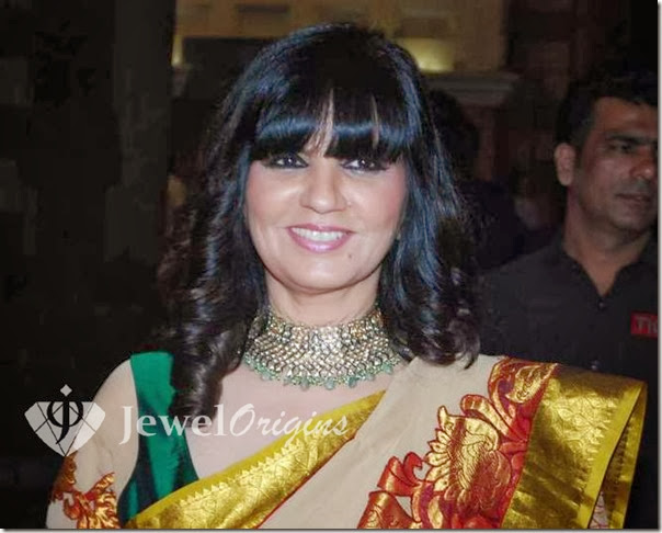Neeta_Lulla_Gold_Necklace