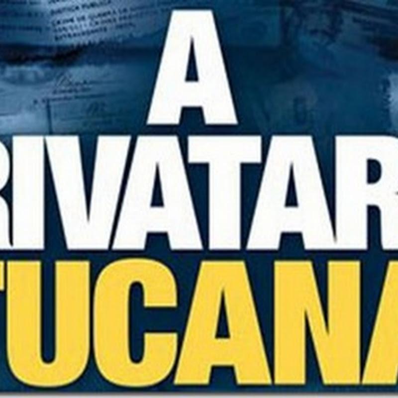 A Privataria Tucana, maior escândalo de corrupção da história brasileira.