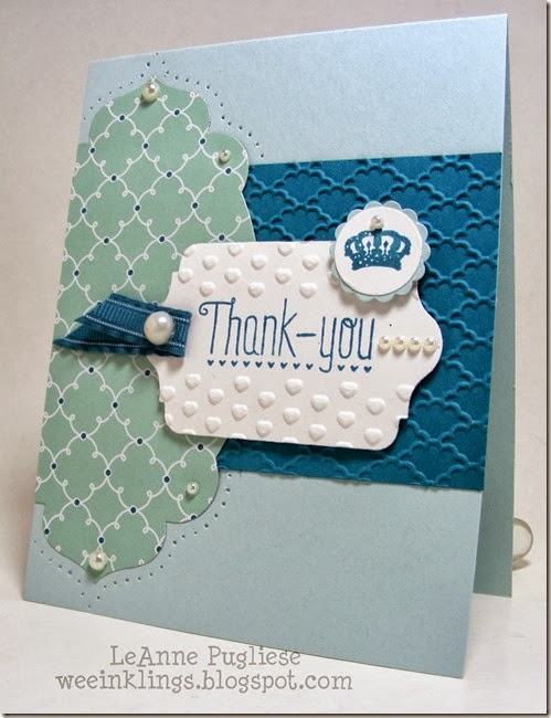 LeAnne Pugliese WeeInklings Paper Players 165 Another Thank You