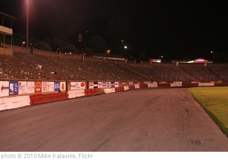 'Bowman Gray Stadium Winston Salem, NC' photo (c) 2010, Mike Kalasnik - license: http://creativecommons.org/licenses/by-sa/2.0/