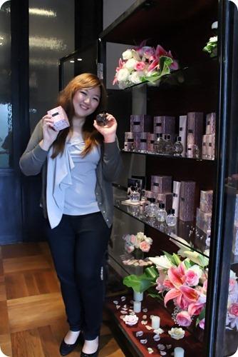 Priscilla Jimmy Choo shelves