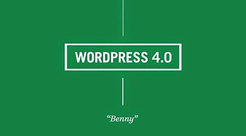 Wordpress 4-0 Benny
