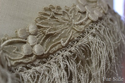 1910 Wedding Dress Trim