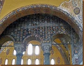 Istanbul, Aya Sophia decoration N