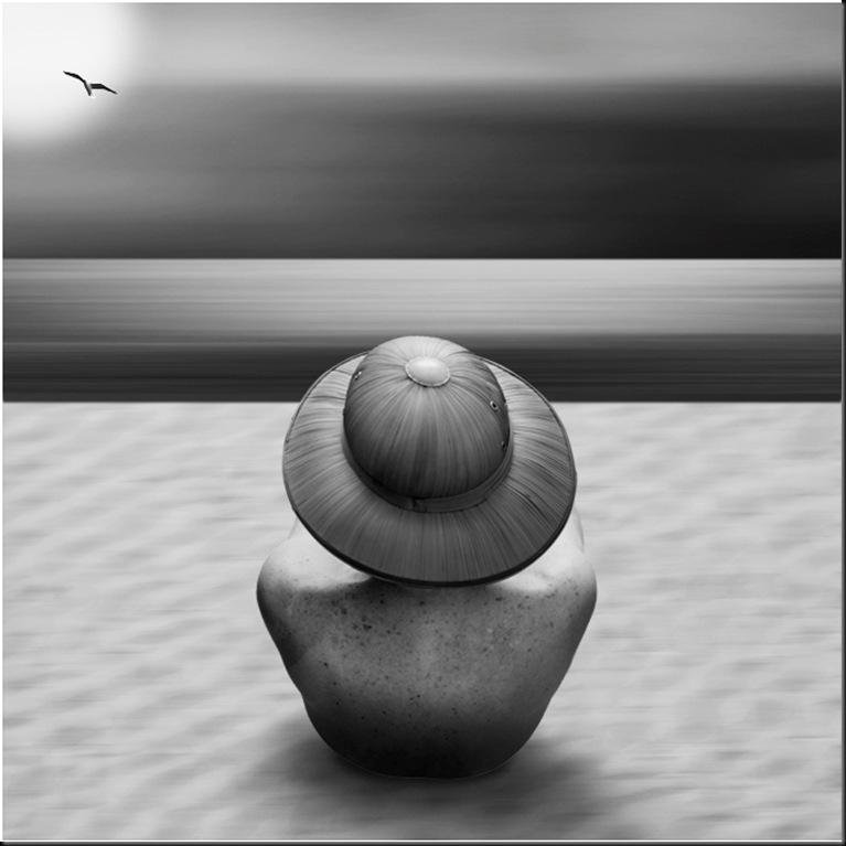...di fronte al mare