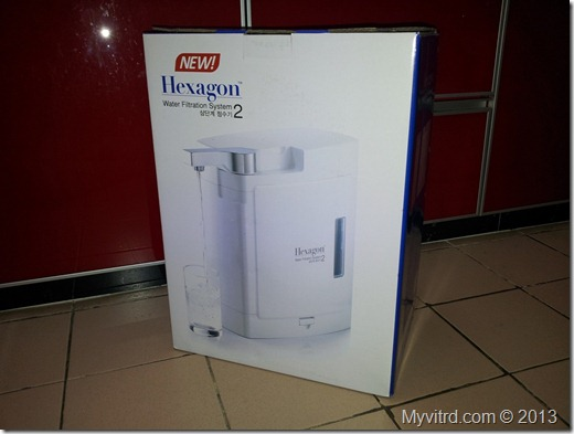 Hexagon Water Filter 1