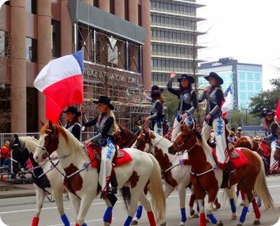 standing riders