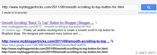 google plus crawled