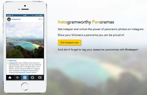 Instapan instagramworthy panoramas