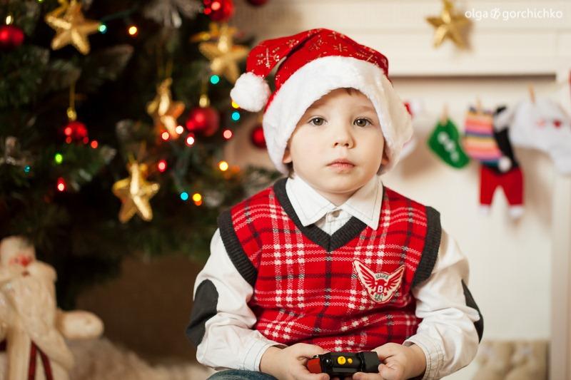 Детский новогодний фотопроект Рождественские мечты. 26. Гоша и Лея-0598