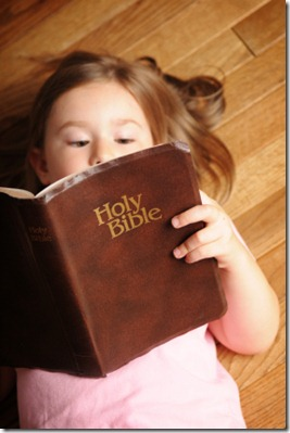 Children--reading_Bible