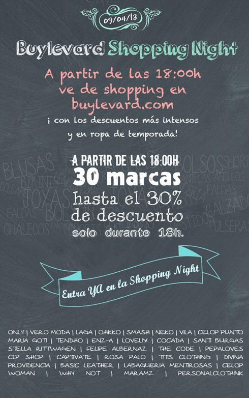 promo Buylevard Shopping Night