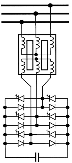Three-phase GTO-based STATCOM